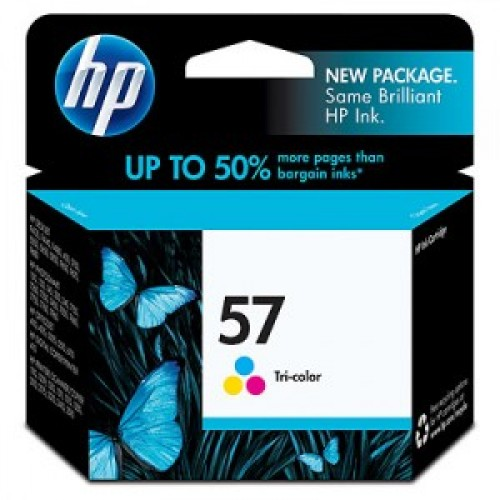 HP C6657A #57 COLOUR PRINTER INK CARTRIDGE