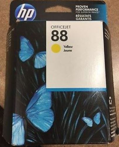 HP C9388A #88 YELLOW INK CARTRIDGE