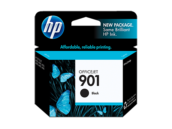 HP C653AN #901 BLACK INK CARTRIDGE