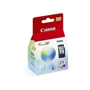 CANON CL 211 - INK TANK - 1 X COLOR (CYAN, MAGENTA, YELLOW)
