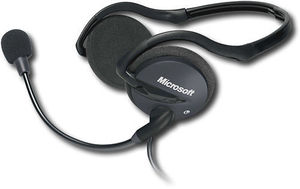 MICROSOFT LIFECHAT LX-2000 - HEADSET ( BEHIND-THE-NECK )