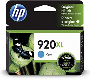 HP CD972AN 920 CYAN INK CARTRIDGE