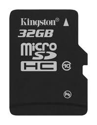 KINGSTON 32GB MICROSD CARD CLASS 4