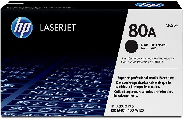 HP 80A TONER BLACK CF280A