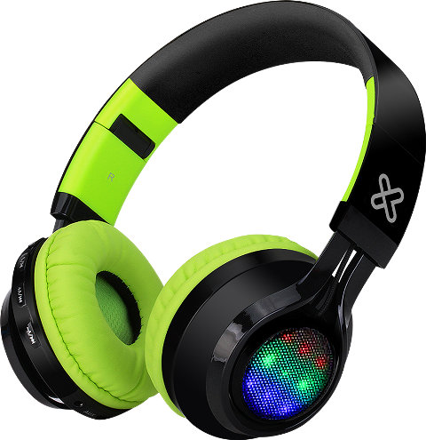 KLIP BLAST LED LIGHT HEADPHONE