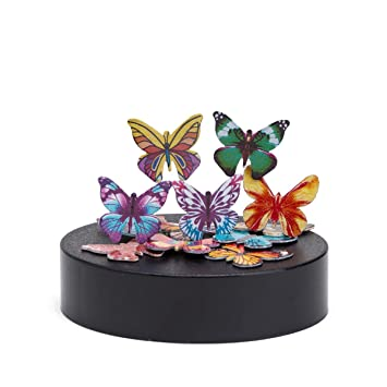 IPHYHE MAGNETIC SCULPTURE DESK TOY STRESS RELIEF BUTTERFLIES