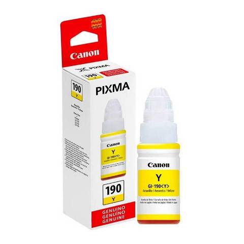 CANON 190 YELLOW INK TANK