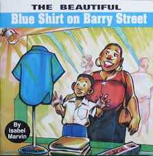 THE BEAUTIFUL BLUE SHIRT ON BARRY STREET