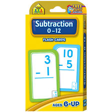 FLASH CARDS: SUBTRACTION 0-12