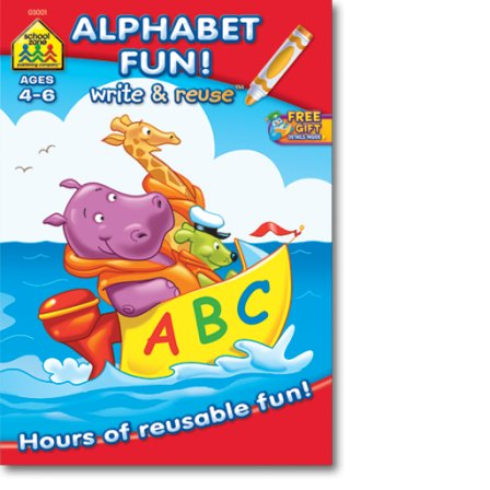 ALPHABET FUN: WRITE AND REUSE