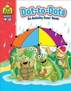 ACTIVITY ZONE BOOK-DOT-TO-DOTS