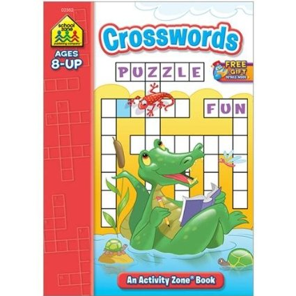 ACTIVITY ZONE BOOK-CROSSWORDS