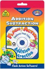 ADDITION & SUBTRACTION FLASH ACTION SOFTWARE