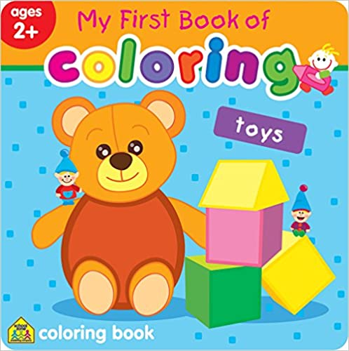 MY FIRST BOOK OF COLOURING