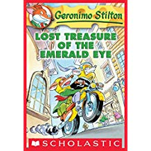 GERONIMO STILTON #01: LOST TREASURE OF THE ERERALD EYE