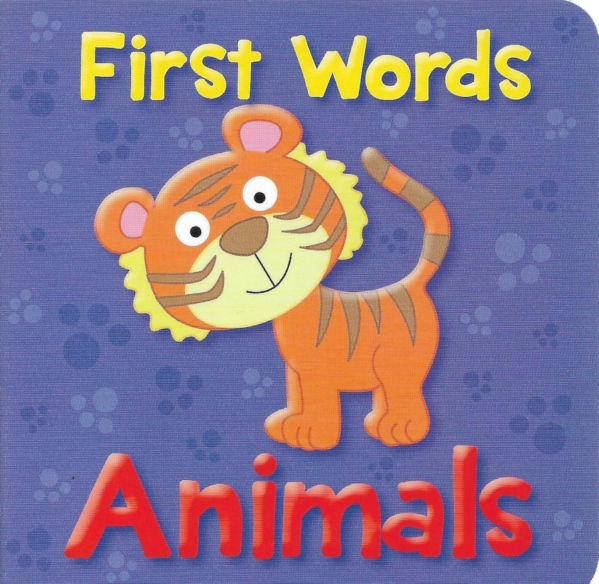 ANIMAL FIRST WORDS (PURPLE)