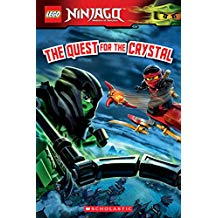 LEGO NINJAGO: THE QUEST FOR THE CRYSTAL (READER #14)