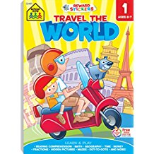 TRAVEL THE WORLD FIRST GRADE ADVENTURE WORKBOOK