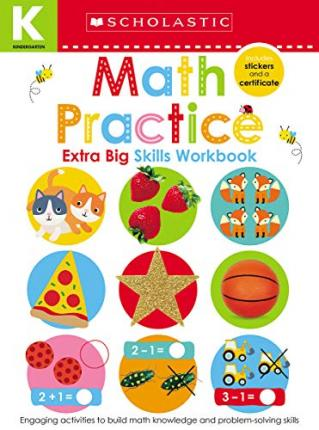KINDERGARTEN EXTRA BIG SKILLS WORKBOOK : MATH PRACTICE