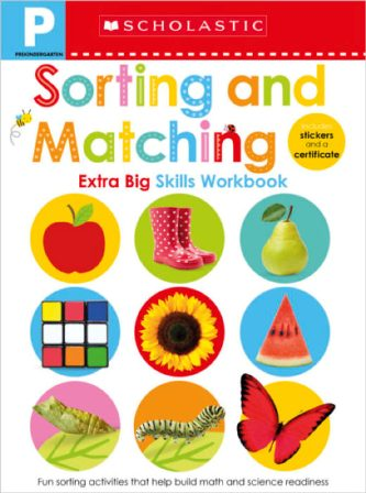SORTING AND MATCHING PRE-K WORKBOOK (SCHOLASTIC EARLY LEA...