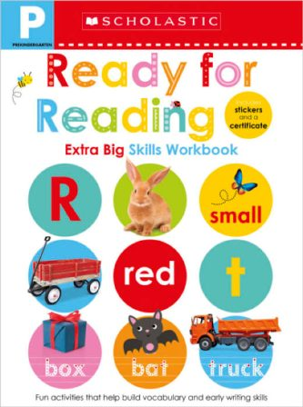 PRE-K READY FOR READING WORKBOOK (SEL EXTRA BIG SKILLS WRKBK