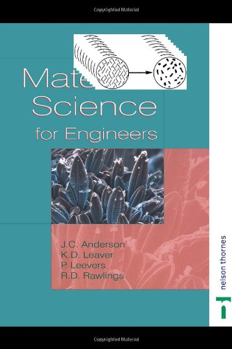 MATERIAL SCIENCE FOR ENGINEERS