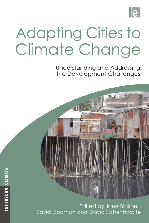 ADAPTING CITIES TO CLIMATE CHANGE: UNDERSTANDING & ADDRES...