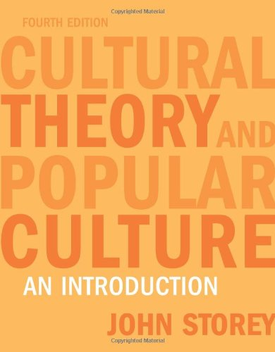 AN INTRODUCTION TO CULTURE THEORY & POPULAR CULTURE
