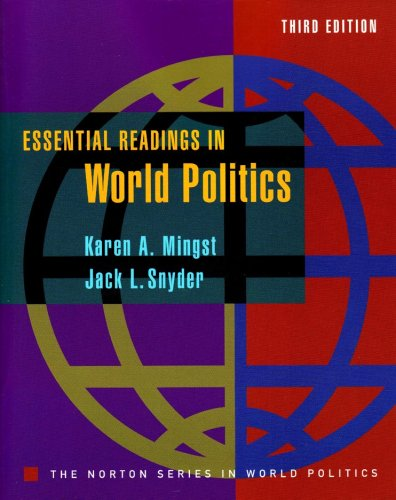 ESSENTIAL READING IN WORLD POLITICS