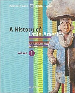VOL. 1 HISTORY OF LATIN AMERICA