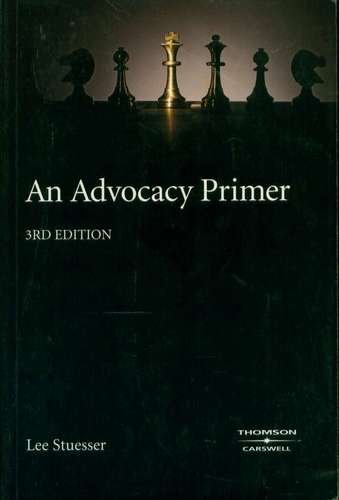 AN ADVOCACY PRIMER