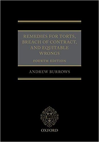 REMEDIES FOR TORTS & BREACH OF CONTRACT