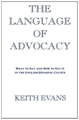 THE LANGUAGE OF ADVOCACY