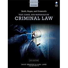 TEXT, CASES & MATERIALS ON CRIMINAL LAW