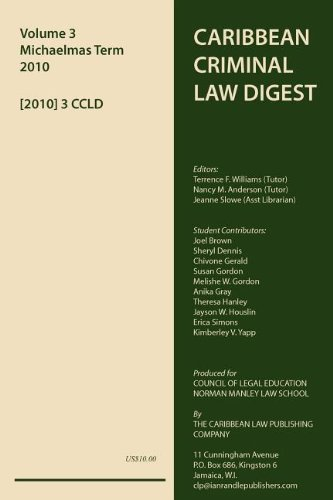 VOL. 3 - CARIBBEAN CRIMINAL LAW DIGEST