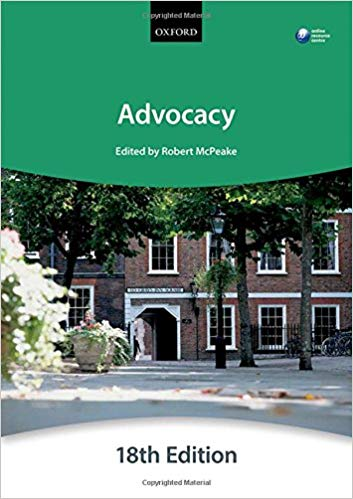 ADVOCACY + WEBSITE (BLACKSTONE BAR MANUAL)