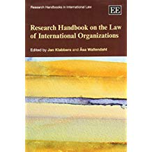 RESEARCH HANDBOOK OF THE INTERNATIONAL ORGANIZATIONS