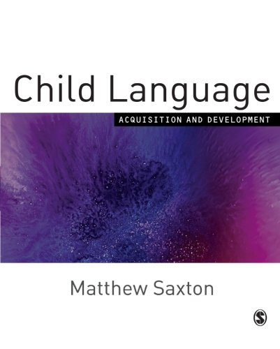 CHILD LANGUAGE - ACQUISITION AND DEVELOPMENT