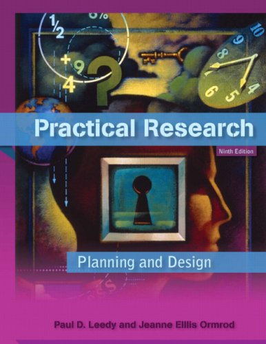 PRACTICAL RESEARCH: PLANNING & DESIGN
