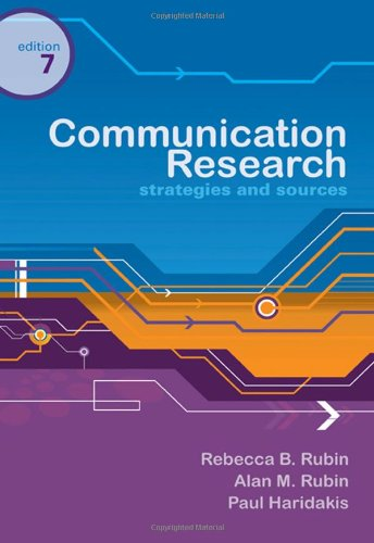 COMMUNICATION RESEARCH: STRATEGIES AND SOURCE