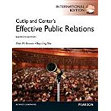 CUTLIP & CENTERS EFFECTIVE PUBLIC RELATIONS