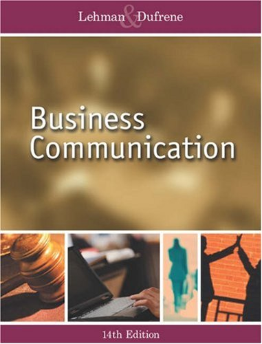 BUSINESS COMMUNICATION ANNIVERSARY EDITION