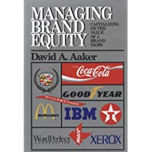 MANAGING BRAND EQUITY: CAPITALIZING ON THE VALUE OF A BRAND
