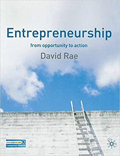 ENTREPRENEURSHIP FROM OPPORTUNITY TO ACTION