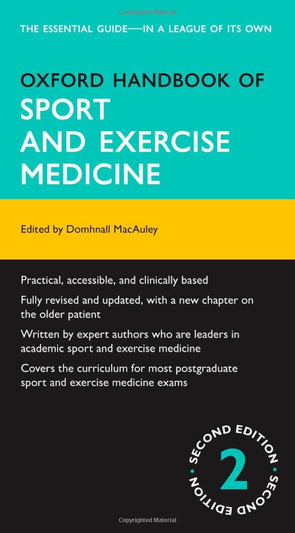 OXFORD HANDBOOK OF SPROTS AND EXERCISE MEDICINE