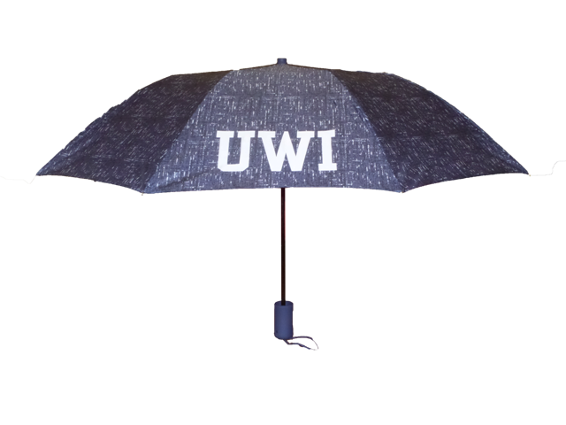 "UWI 42"" TWEED UMBRELLA #8811"