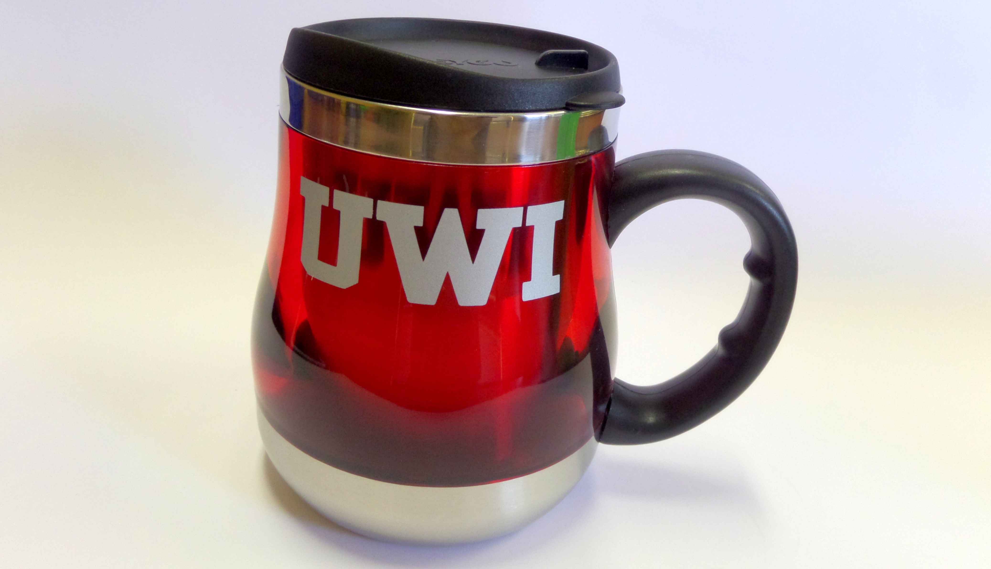 UWI ACRYLIC/STAINLESS STEEL EXECUTIVE TRAVEL MUG