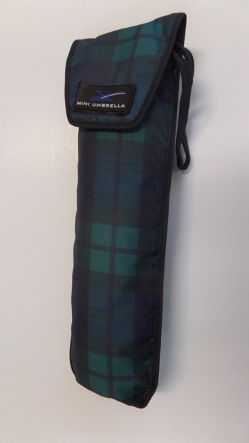 #3000 POCKET PLAID UMBRELLAS