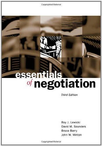 ESSENTIALS OF NEGOTIATION (OLD EDITION)