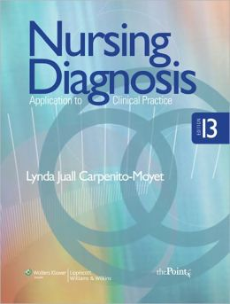 NURSING DIAGNOSIS APPLICATION TO CLINICAL PRACTICE